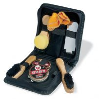 Shoe Polish Kit in Travel Case